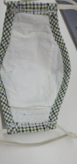 绿之源 绿呼吸防雾霾口罩 男女可带防pm2.5颗粒物粉尘雾霾活性炭防甲醛异味尾气全棉可洗耳戴折叠式 晒单图
