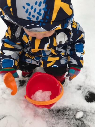 德国(Hape)儿童玩具玩雪挖沙玩沙9件套送收纳袋铲子沙桶户外玩具1-3-6岁男女孩节日礼物 18个月+ suit0079 晒单图