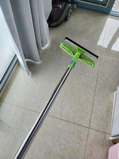 伊司达 擦玻璃神器加长高空擦窗器刮洗一体3米伸缩清洁工具 晒单图