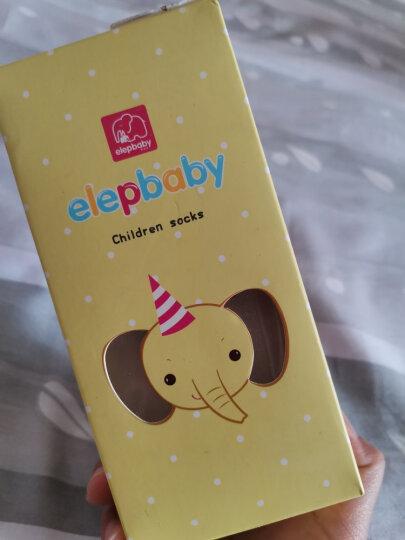 象宝宝(elepbaby)婴儿袜子6双盒装夏季薄款透气吸汗儿童网眼袜子新生儿宝宝袜子4-6岁女孩组 晒单图
