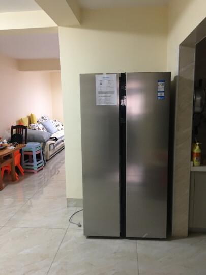 美的(Midea)525升 风冷无霜对开门双门冰箱变频电子控温智能冷藏冷冻节能省电 BCD-525WKPZM(E) 晒单图