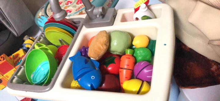 德国(Hape)益智玩具男孩玩具女孩过家家儿童积木水果蔬菜切切乐宝宝厨房玩具宝宝切水果套装 3岁+ E8019 晒单图