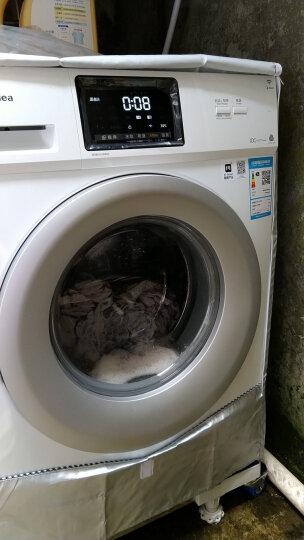 美的(Midea)洗衣机全自动滚筒8公斤8kg 变频智能节能 高温除菌 洗衣机  晒单图