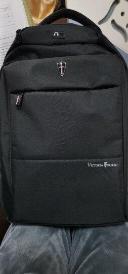 维多利亚旅行者 VICTORIATOURIST 双肩包电脑包15.6英寸笔记本包 男防泼水双肩背包V9006黑色 晒单图