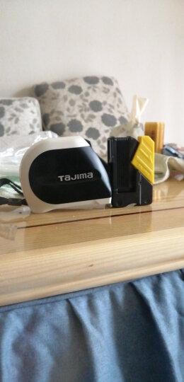 田岛(TaJIma)长5.5米钢卷尺盒尺木工尺伸缩尺配安全别扣25mm宽 1001-1900 晒单图