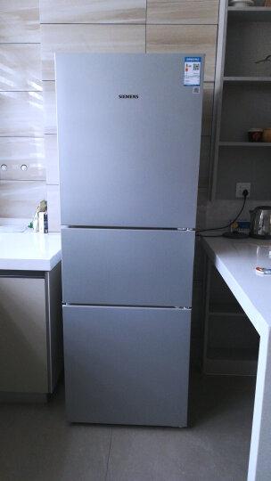 西门子(SIEMENS)274升 三门冰箱 零度保鲜 滤膜保湿 LED内显(拉丝银) BCD-274(KG28FA29EC) 晒单图