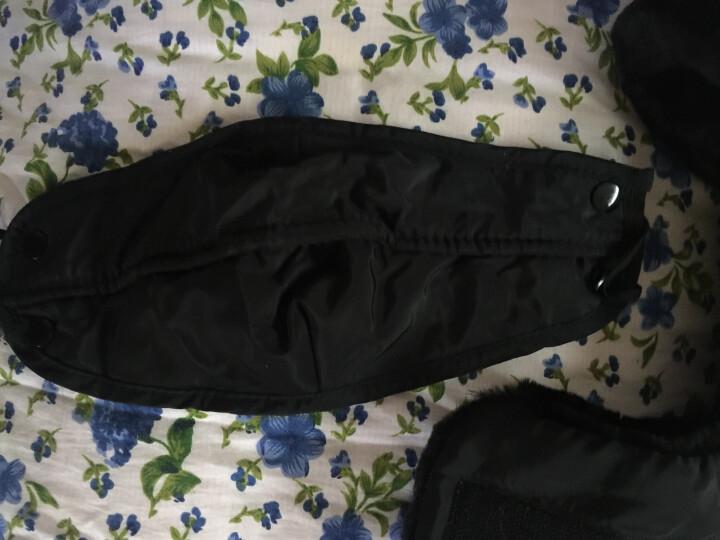 杰英仕雷锋帽子男女冬季滑雪帽户外保暖防寒帽骑车护脖帽子 黑色(A款) 晒单图
