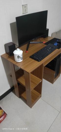 家乐铭品 电脑桌书桌 台式办公桌宽大加固多功能带键盘托家用现代简约卧室写字台学习桌笔记本桌子 ZC122 晒单图
