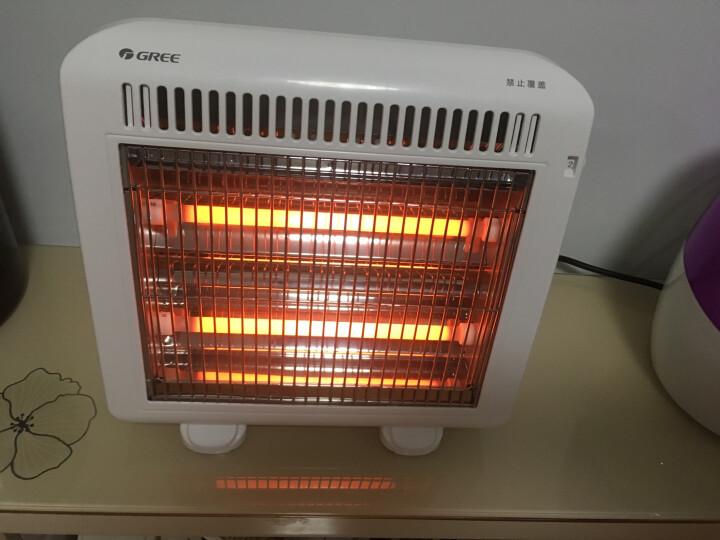 格力(GREE) 格力小太阳取暖器家用电暖器暖气办公室学生暖风机浴室烤火炉 NSJ-10 晒单图
