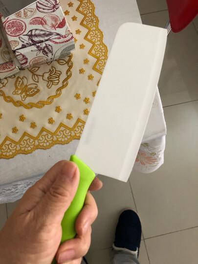 美瓷(MYCERA)陶瓷刀具厨房家用6.5寸切菜刀 切片刀 宝宝辅食刀(黑色)EHG6.5B 晒单图