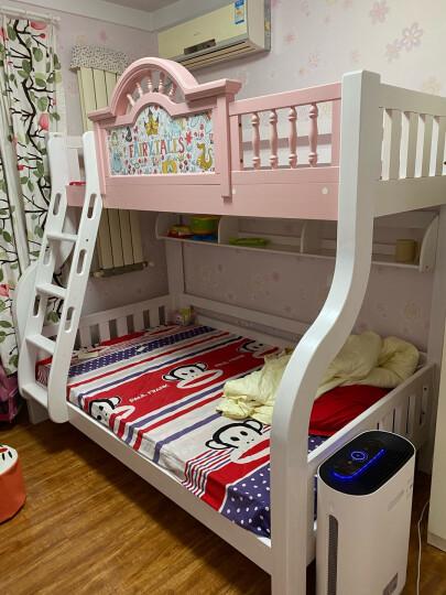 我爱我家儿童床垫环保椰棕床垫高低床上铺配套床垫全棕6公分儿童床垫 浅蓝色 0.85*2米 晒单图