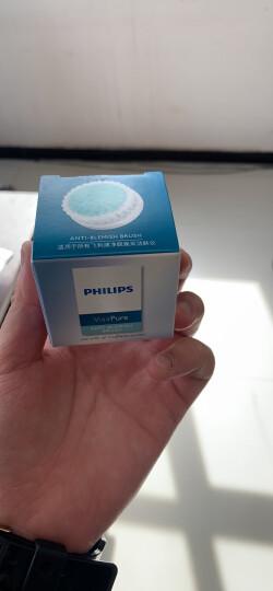 飞利浦(Philips)洁面仪去角质刷头SC5992/00适用于女士洁肤仪BSC201 SC5275 SC5363 晒单图