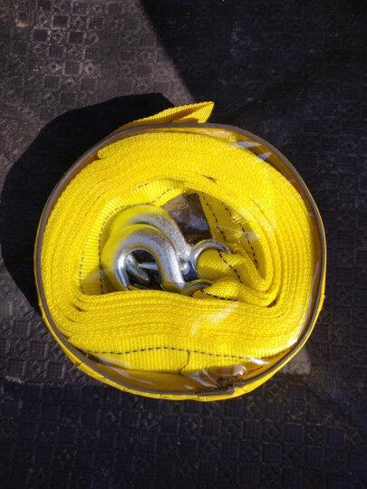 狼爪 汽车拖车绳5吨4米  越野轿车用牵引绳双层加厚救援绳救援工具 晒单图