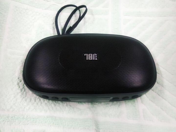 JBL SD-18 BLK 无线蓝牙音箱 迷你便携式插卡音响 手机/电脑外放播放器 FM收音机 可连U盘TF卡 黑色 晒单图