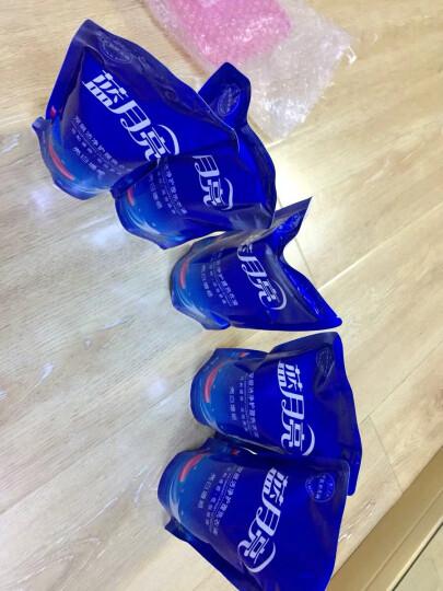 蓝月亮 洗衣液袋装亮白增艳薰衣草香500g*12(整箱销售) 晒单图