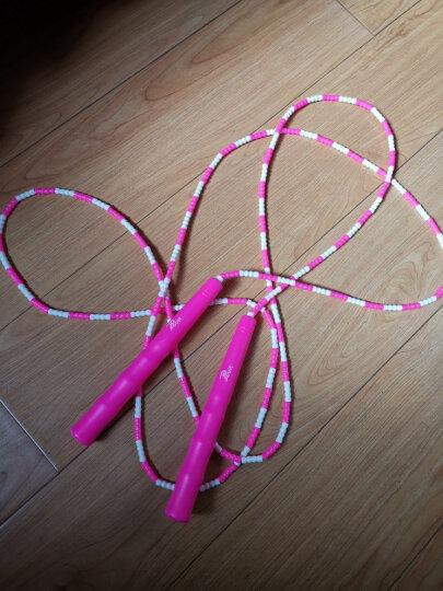 普为特POVIT 儿童竹节跳绳成人健身减肥中小学生考试专用可调节花样跳绳幼儿园训练珠节绳 P-1264(绿白) 晒单图