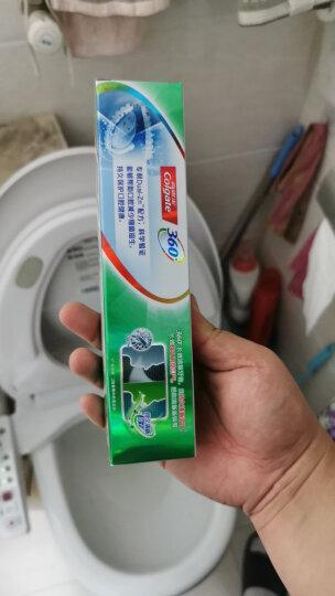 高露洁(Colgate) 360° 全面口腔健康 备长炭深洁 牙膏套装 200g×3 晒单图