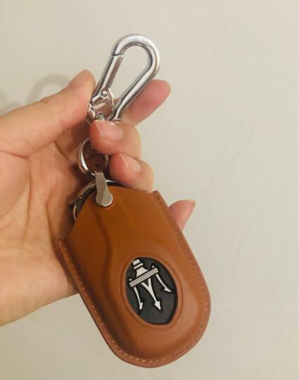 标车族 玛莎拉蒂钥匙套包真皮新总裁Ghibli古博力GTGC智能腰挂专用于玛莎拉蒂 芭芘红 钥匙包+挂钩 晒单图