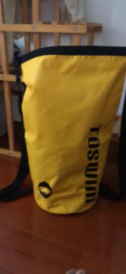 拓胜(TOSWIM)游泳包 干湿分离 女 健身包防水包 男 泳包沙滩包 多功能运动单肩包 黄 晒单图