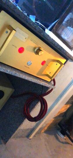 铜彩(COPPER COLOUR) 美声 高端定制 发烧音频线 高纯铜 RCA信号线 1.5米长1付 晒单图
