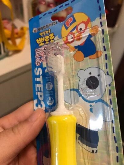韩国原装 啵乐乐Pororo宝宝婴幼儿童软毛硅胶牙刷 二段 8-15个月 晒单图