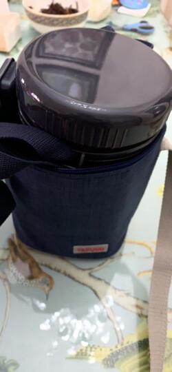 泰福高(TAFUCO)保温饭盒 不锈钢焖烧保温提锅免加热三层保温桶 T-2510 香槟金色2.2L 赠保温包 晒单图