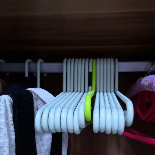 日益新 衣架 实心晾衣架 多功能防水防滑干湿两用衣架 6支装 RYX-01001 晒单图