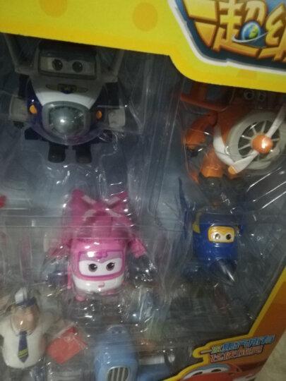 奥迪双钻(AULDEY) 超级飞侠 迷你典藏豪华版儿童玩具 4只载具车变形机器人+13只迷你飞侠 720399 晒单图