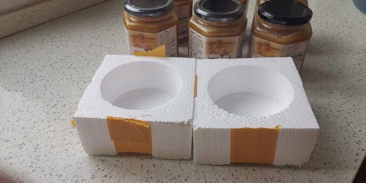 19年结晶态新土蜂蜜 深山天然棒棒桶百花蜜 秦岭留坝 宁陕土蜂蜜 土蜂蜜500g*8瓶 晒单图