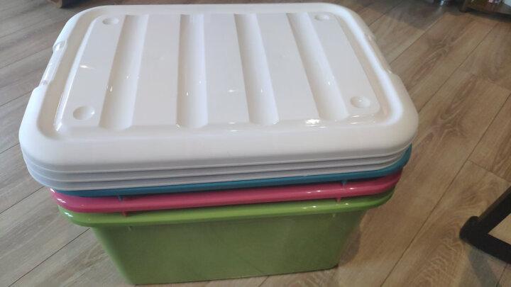 禧天龙Citylong 4层可叠加组合收纳柜环保塑料储物柜典雅白抽屉式收纳箱家用整理柜 5010 晒单图