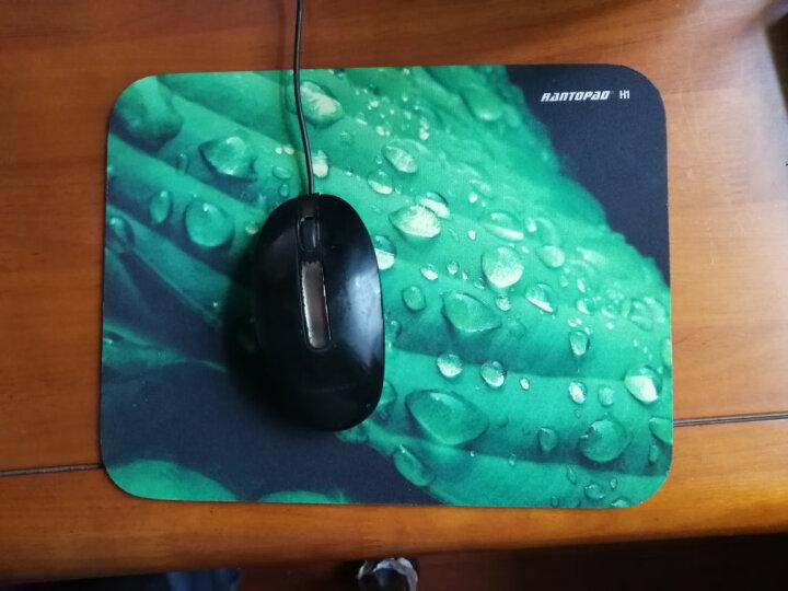 镭拓(Rantopad) H1橡胶布面电脑办公鼠标垫 小号 晨露 晒单图