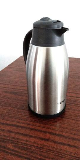 象印(ZO JIRUSHI) 不锈钢真空保温壶大容量家用保温瓶热水瓶暖壶咖啡壶办公水壶 SH-FE19C钢色1.9L 晒单图