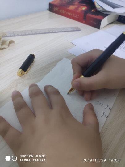 英雄(HERO) 1801黑丽雅 IM金属杆宝珠笔签字笔 吉祥如意办公礼品文具套装 晒单图