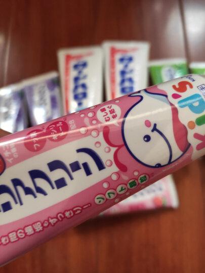 花王(KAO)儿童牙膏 宝宝牙膏 婴幼儿牙膏 日本原装进口 木糖醇氟素 葡萄味70g 两支装 晒单图
