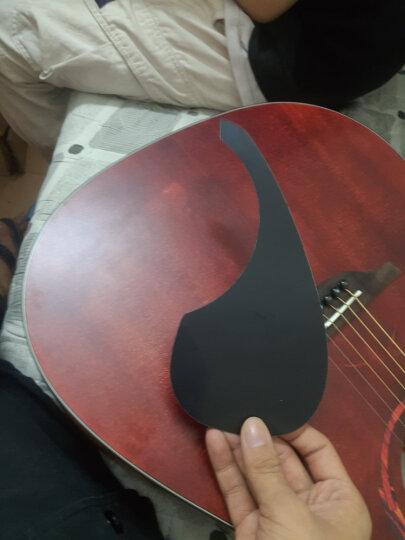 Nightwish 拉维斯 单板民谣吉他面单木吉他41寸初学者乐器 米维斯2S 云杉胡桃木 36寸 圆角 晒单图