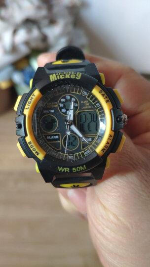 迪士尼(Disney)防水夜光米奇电子表 儿童手表男孩运动表学生手表MK-15014B 晒单图