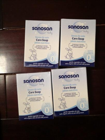 哈罗闪(sanosan)婴儿洁肤皂100g 香皂 宝宝儿童香皂 洗手洗衣皂 德国原装进口 晒单图