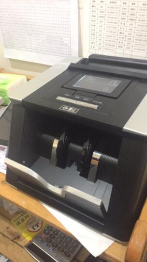 康亿(KONYEE)2019新版人民币 JBYD-Q668B 全新版银行专用全智能语音报警双屏点钞机验钞机 晒单图