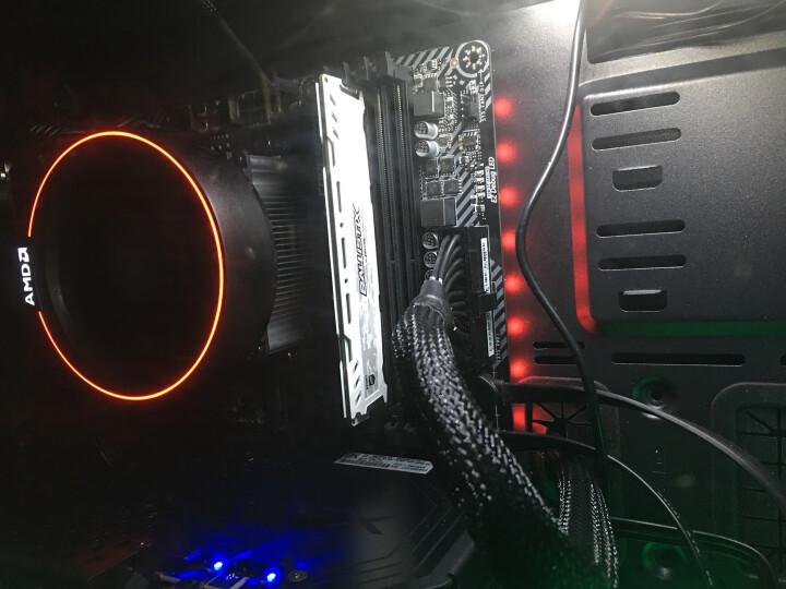追风者(PHANTEKS) 416PTG钢化玻璃RGB版 黑色 ATX水冷电脑机箱(RGB可调灯控/280水冷/电源仓/2把静音风扇) 晒单图