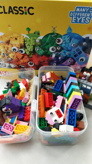 LEGO乐高积木早教益智经典创意系列拼插积木儿童玩具男孩女孩大小颗粒拼插积木 10915字母卡车(2020年新品) 晒单图