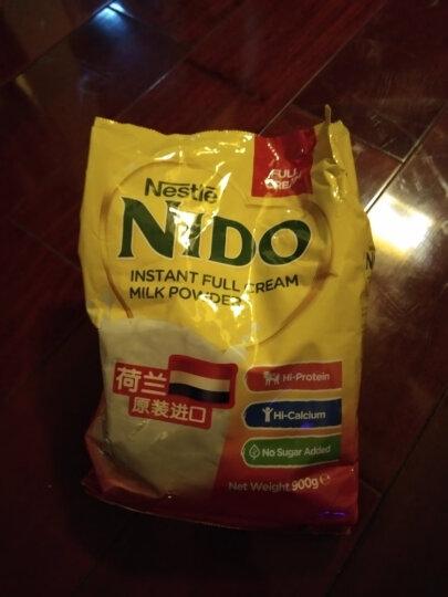 荷兰进口 成人奶粉 雀巢(Nestle) Nido全脂 高钙奶粉900g袋装 晒单图