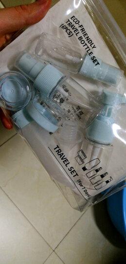 四万公里 旅行分装瓶套装 3件套 出差便携式化妆品分装瓶 洗发水沐浴乳乳液透明空瓶 30ml SW2106 晒单图