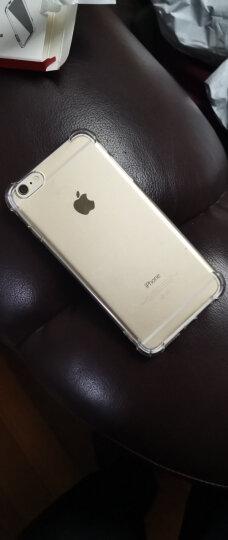 悦可(yueke)苹果6plus/6s plus手机壳透明电镀防摔全包保护套男女款 适用于iphone6p/6sp 5.5英寸 透明金 晒单图