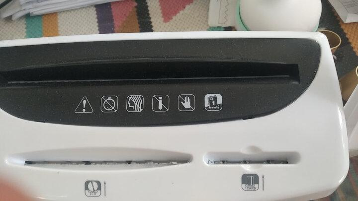 得力(deli)4级保密个人办公家用多功能桌面型碎纸机 小型碎纸机文件粉碎机9931 晒单图
