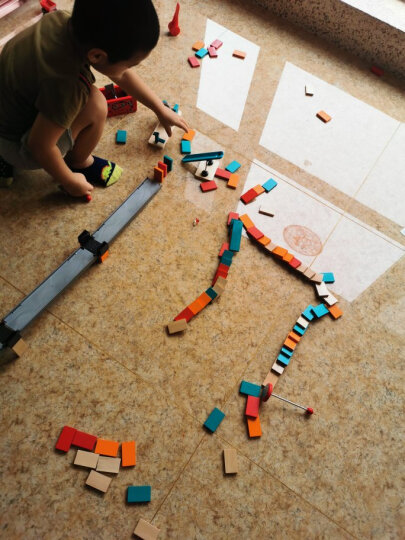 德国(Hape)积木玩具拆装拼装早教启蒙过家家益智玩具3-6岁我的工具盒百变拼搭男孩女孩节日礼物 3岁+ E3001 晒单图