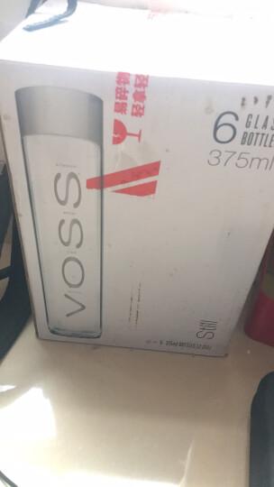 挪威原装进口 芙丝(VOSS)天然矿泉水(不含气) 500ml*24整箱(塑料瓶) 晒单图