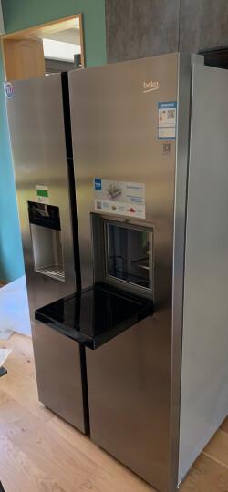 倍科(beko)GN162420 IX 558升 对开门吧台饮水机冰箱 原装进口变频不锈钢色 晒单图