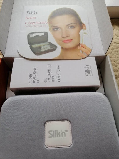 Silk'n 美容器 红光 射频 紧致肌肤 Silkn美容仪器 FaceTite 1.0 晒单图