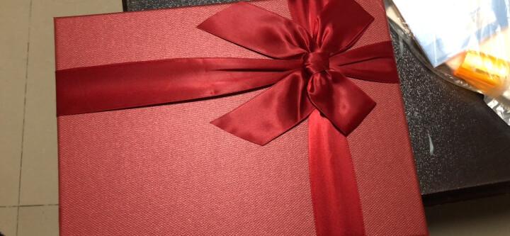 礼盒长方形礼品盒大中小号创意包装盒大号围巾衣服裙子礼物盒子正方形礼盒定制印logo 红色盒子+礼袋 小号28*21*5cm 晒单图
