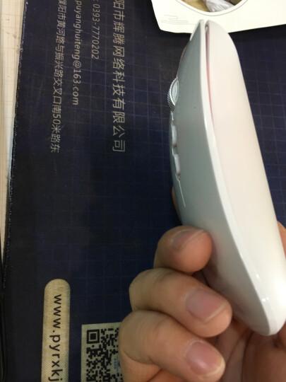 前行者蓝牙双模无线鼠标可充电男女生台式电脑办公家用苹果mac笔记本无限电池无声超薄可爱游戏静音 智能触控【二代蓝牙充电版】白色 晒单图